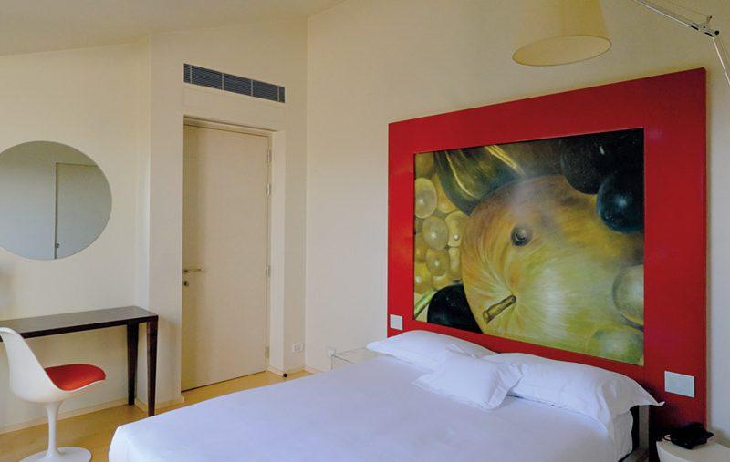Singola Queen – Camera da letto