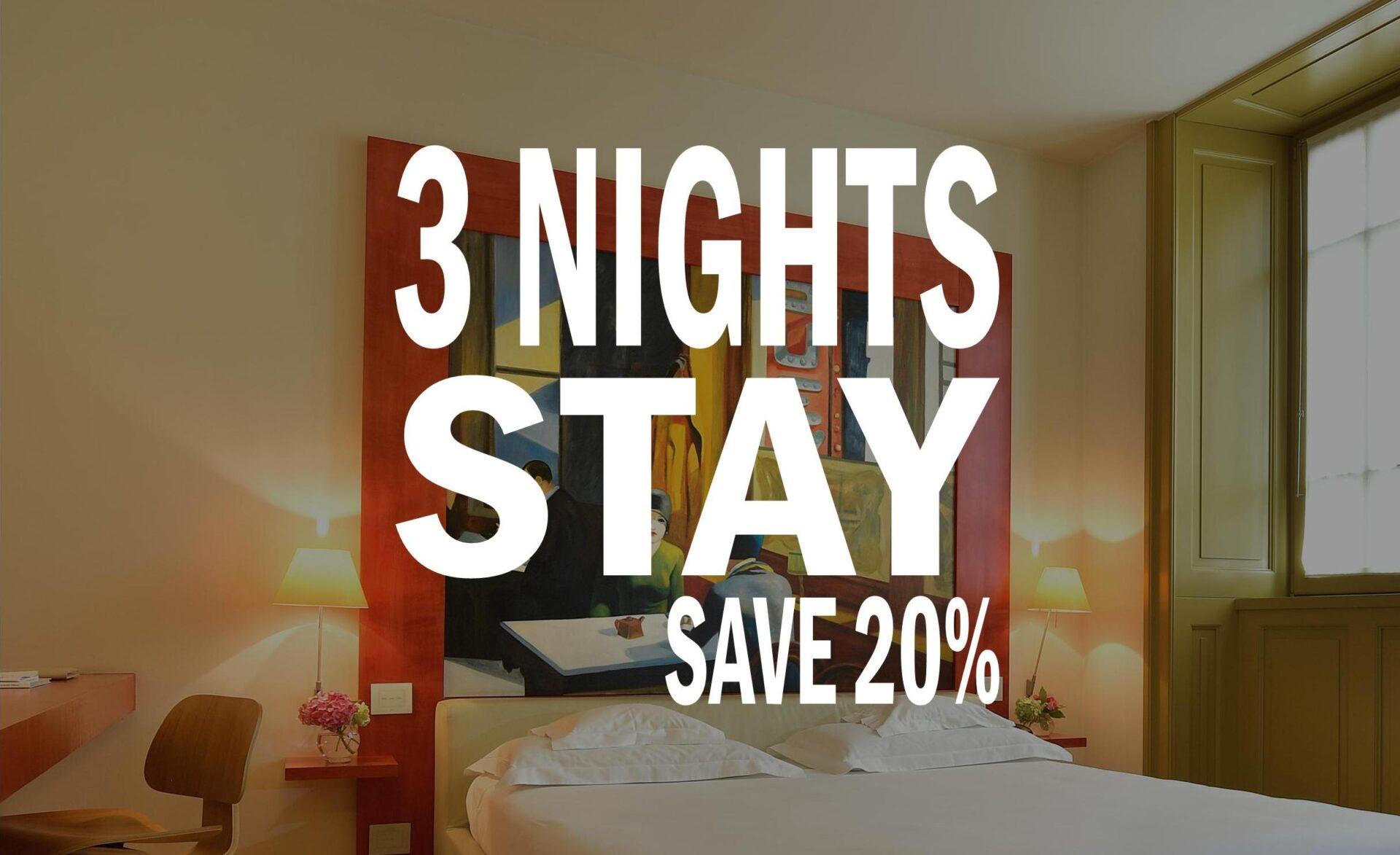 Tre notti all'Hotel Petronilla